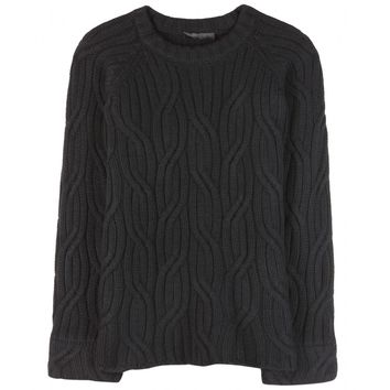 mytheresa.com -  Eden wool and cashmere-blend sweater - Luxury Fashion for Women / Designer clothing, shoes, bags