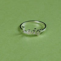 Personalized Jewelry - Name Ring - Gift ideas - Mother Gift