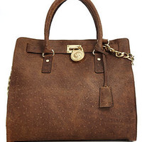 MICHAEL Michael Kors Handbag, Hamilton Large North South Tote - Handbags & Accessories - Macy's