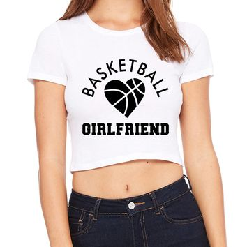 Basketball Girlfriend Crop T-Shirt