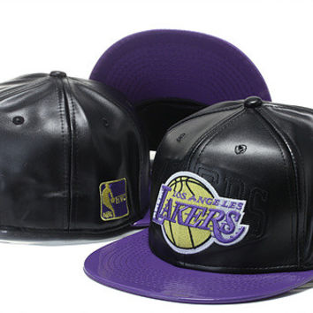 Los Angeles Lakers New Era Special Edition Snapback Hats