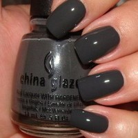 China Glaze Nail Polish, Concrete Catwalk, 0.5 Fluid Ounce