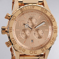 Nixon Watch 42-20 Chrono inRose Gold