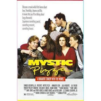 Mystic Pizza Movie poster Metal Sign Wall Art 8in x 12in