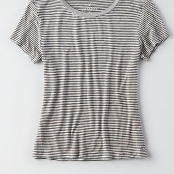 AEO Women's Soft & Sexy Striped Baby T-shirt