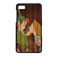 Wendy Kiss Peterpan Wood BlackBerry Z10 Case