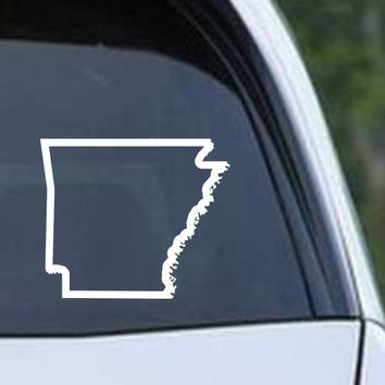 Arkansas State Outline AR - USA America Die Cut Vinyl Decal Sticker