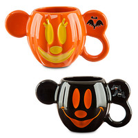 Mickey and Minnie Mouse Halloween Mug Set - Walt Disney World