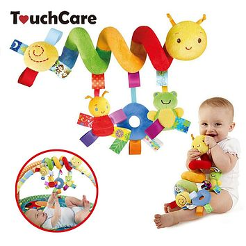 Baby Toy Educational Newborn Baby Rattles Toys For Kids Colorful Caterpillar Baby Stroller Toys Hanging