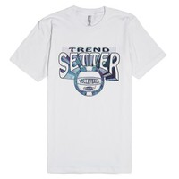 Trend Setter Volleyball-Unisex White T-Shirt