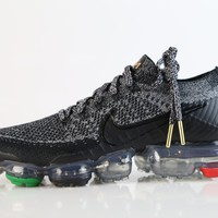 BC DCCK2 Nike Air VaporMax Flyknit BHM Black Red Green AQ0924-007 (NO Codes)