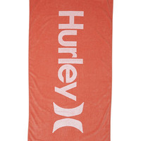 HURLEY ONE & ONLY TOWEL - PINK