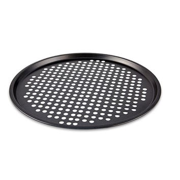 Non-stick Pizza Pan High Duty Steel Baking Dish Tray Microwave Oven Cake Pans Bakeware Tools