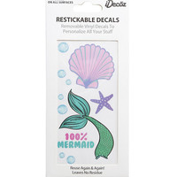 Mermaid Restickable Decals