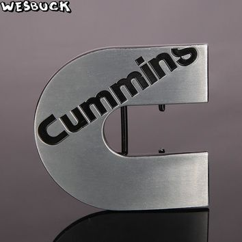 WesBuck Cummins Diesel Logo Fashion Metal Belt Buckle