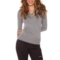 Yadira Sweater - Grey