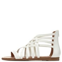 Strappy Gladiator Sandals by Charlotte Russe