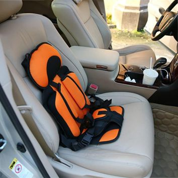 0-5 Year Baby Safe Seat Portable Baby Toddler Simple Car Safety Seat Mat Child Chairs Thicken Sponge Kids Car Stroller Seats Pad