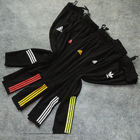 Adidas Fashion Print Exercise Fitness Gym Yoga Running Leggings Sweatpants
