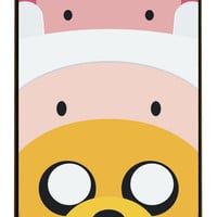 Adventure Time with Finn and Jake Abstract Art Hard Cover Case for iphone 4/4s/5/5s/5c/6/6s/6plus/6s plus tvi