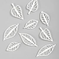 Floating Leaves Wall Decor - Set Of 9