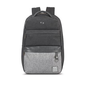 "Solo New York - Urban Code Endeavor Grey Black 15.6"" Backpack"