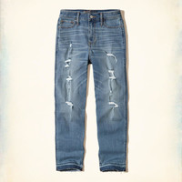 Girls Hollister High-Rise Slim Boyfriend Jeans | Girls Bottoms | HollisterCo.com