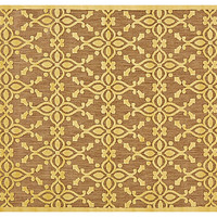 Grant Outdoor Rug, Tan/Yellow - Outdoor Rugs - Week 18 - Sales Events | One Kings Lane