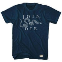 Philadelphia Join or Die Soccer T-shirt