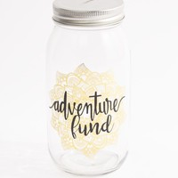 Adventure Fund Mason Jar Bank | Banks | rue21