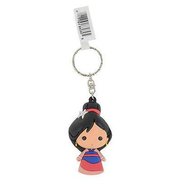 Licensed Official New Disney Princess Series 7 Mulan Figural Keyring Keychain