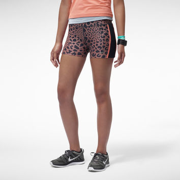 "The Nike 2"" Tempo Printed Women's Running Boyshorts."