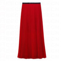 Pleated Vintage Red Skirts - Skirts - dressmall.com