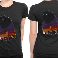 The Pride Lion King 2 Sided Womens T Shirt