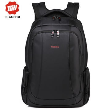 2017 New Tigernu Brand 14.1 to 17 Inch Laptop Bag Backpack Men Large Capacity Nylon Compact Men's Backpacks Unisex Women Bagpack