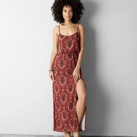 AEO CINCHED MAXI DRESS