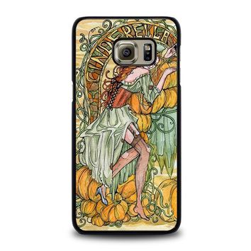 cinderella art disney samsung galaxy s6 edge plus case cover  number 1