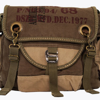 Army Courier Vintage Bike Messenger Bag