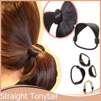 1PC pony tail  Style Rope/ braided Elastic Hair Bands