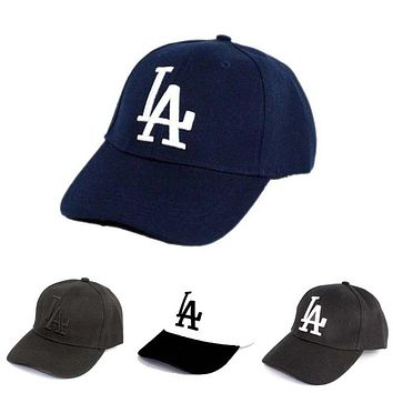 2018 New letter Baseball Caps LA Dodgers Embroidery Hip Hop bone Snapback Hats for Men Women Adjustable Gorras