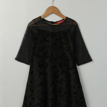 Black Shift Dress - Girls