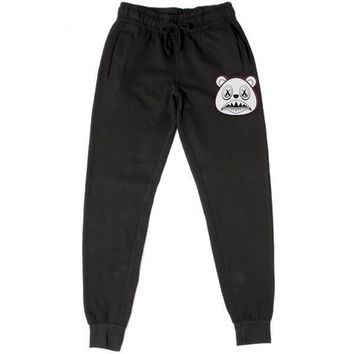 GHOST BAWS Black French Terry Joggers