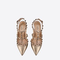 Valentino Garavani Rockstud Ankle Strap, Pumps for Women - Valentino Online Boutique