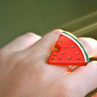 Tacky different watermelon rings