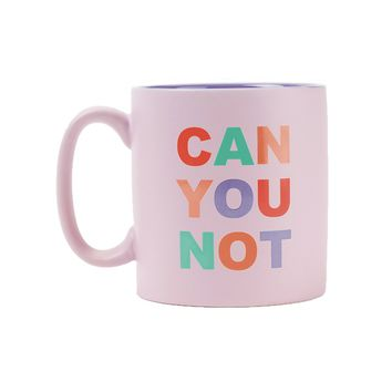 Stoneware Mug: Can You Not