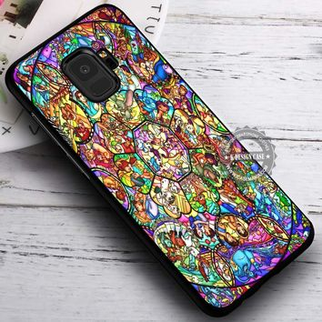 All Disney Heroes Stained Glass iPhone X 8 7 Plus 6s Cases Samsung Galaxy S9 S8 Plus S7 edge NOTE 8 Covers #SamsungS9 #iphoneX