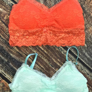 Padded Bralette: Multiple Colors