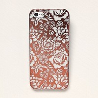 Free People  Printed Metallic iPhone 5 Case at Free People Clothing Boutique