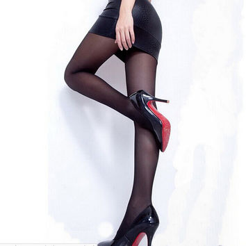 Stylish Women Sexy Full Foot Thin Sheer Tights Stocking Lady\'s Pantyhose Panties