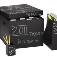 CB2 - chalkboard office accessories